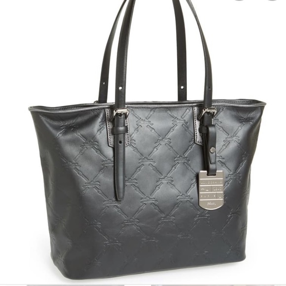 Authentic Longchamp LM Leather Tote